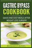 Gastric Bypass Cookbook Book