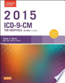 2015 ICD 9 CM for Hospitals  Volumes 1  2 and 3 Standard Edition   E Book