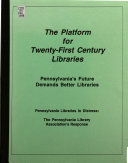The Platform for Twenty first Century Libraries Book