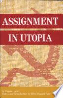 Assignment in Utopia Book