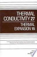 Thermal Conductivity 27 Book