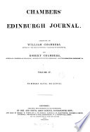 """Chambers's Edinburgh Journal"" by William Chambers, Robert Chambers"