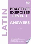 Latin Practice Exercises Level 1 Answers