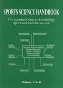 Sports Science Handbook: A-H