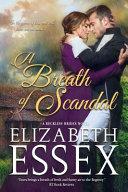 A Breath of Scandal Book