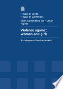 Hl 106 Hc 594 Violence Against Women And Girls