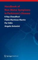 Handbook of Non Motor Symptoms in Parkinson s Disease Book