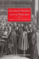 Juricultural Pluralism Vis-à-vis Treaty Law