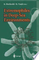Extremophiles in Deep Sea Environments Book