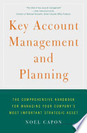Key Account Management and Planning Book