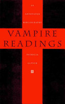 Pdf Vampire Readings