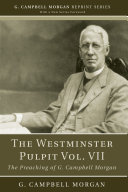 The Westminster Pulpit vol. VII Pdf/ePub eBook