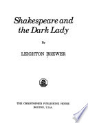 Shakespeare and the Dark Lady