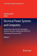 Electrical Power Systems and Computers Book