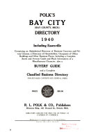Bay City City Directories