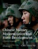 Chinese Military Modernization and Force Development Book
