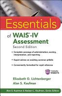 Essentials of WAIS IV Assessment