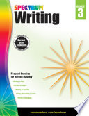 Spectrum Writing Grade 3