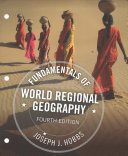 Fundamentals of World Regional Geography   Lms Integrated Mindtap Earth Sciences  1 Term 6 Months Access Card