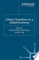 China s Transition to a Global Economy