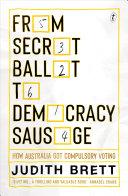 From Secret Ballot to Democracy Sausage [Pdf/ePub] eBook