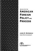 American Foreign Policy and Process Book PDF