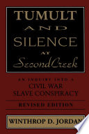 Free Tumult And Silence At Second Creek Book