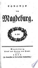 Chronik der Stadt Magdeburg
