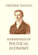Pdf Harmonies of Political Economy Telecharger