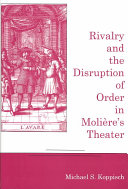 Pdf Rivalry and the Disruption of Order in Molière's Theater Telecharger