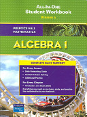 Prentice Hall Math Algebra 1 Student Workbook 2007