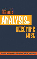 Analysis of Becoming Wise Book PDF