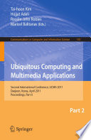 Ubiquitous Computing and Multimedia Applications Book