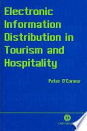 Electronic Information Distribution in Tourism and Hospitality
