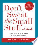 Don T Sweat The Small Stuff At Work PDF