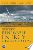 Renewable Energy In Power Systems Book PDF