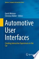 Automotive User Interfaces