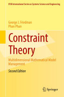Pdf Constraint Theory