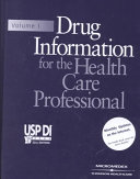 Drug information for the health care professional Book