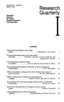 Research Quarterly