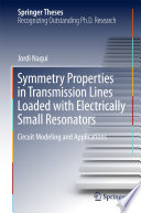 Symmetry Properties in Transmission Lines Loaded with Electrically Small Resonators