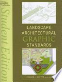 Architectural Graphic Standards 11 Edition Student Edition with Landscape Graphic Standards Student Edition Set