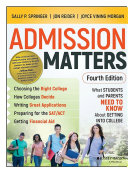 Admission Matters Pdf/ePub eBook