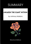 Pdf SUMMARY - Awaken The Giant Within by Anthony Robbins Telecharger