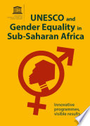 Unesco And Gender Equality In Sub Saharan Africa