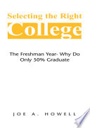 Selecting the Right College   a Family Affair