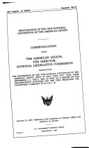 Proceedings of ... National Convention of the American Legion ebook