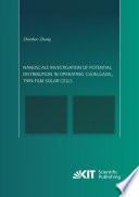 Nanoscale Investigation Of Potential Distribution In Operating Cu In Ga Se2 Thin Film Solar Cells Book PDF