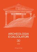 Archeologia e Calcolatori  30  2019