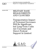 Military Base Realignments and Closures